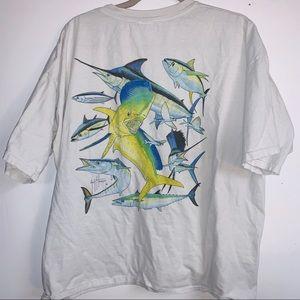 Guy Harvey fish t-shirt xxl
